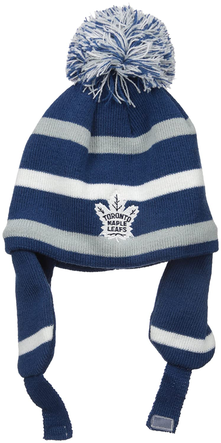 Old Time Hockey Children Unisexs NHL Toddler Jubilee Alpine Knit Hat with Pom