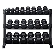 Rep Fitness Rubber Hex Set
