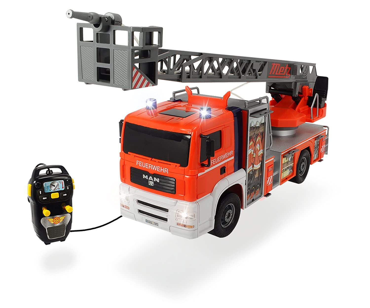 dickie toys 203719000 fire patrol kabelgesteuertes feuerwehrauto 50 cm ebay. Black Bedroom Furniture Sets. Home Design Ideas