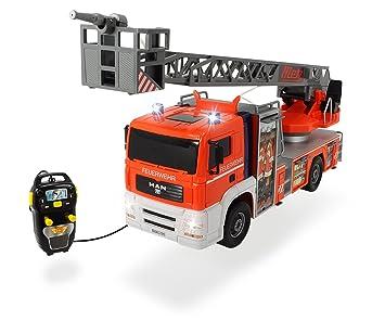 Dickie Toys 203719000 Fire Patrol Kabelgesteuertes Feuerwehrauto