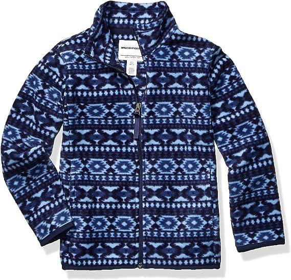 Essentials Boys Full-Zip Polar Fleece Jacket