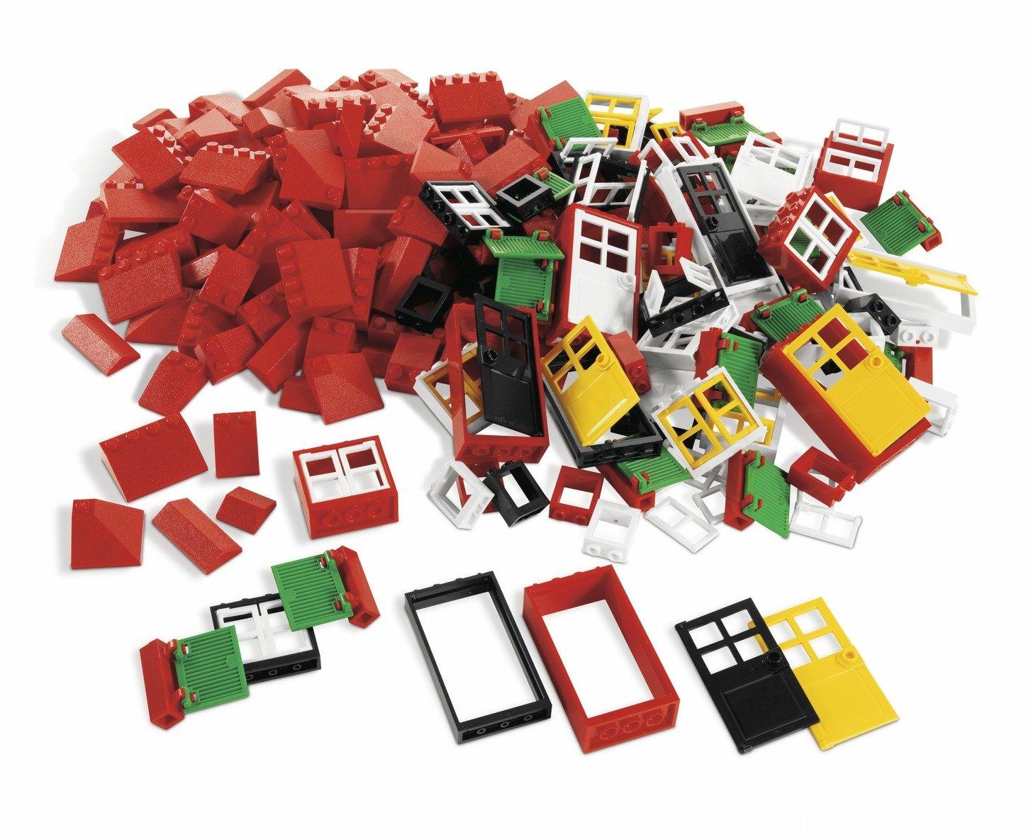 Lego Dacta Fenêtres, portes et tuiles de toit 4587438