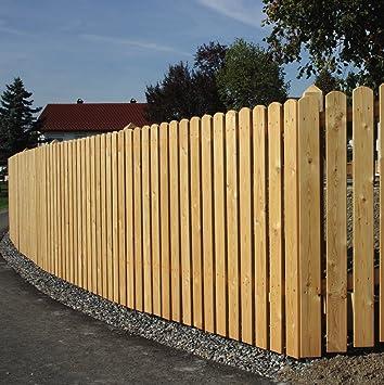 Gartenwelt Riegelsberger 100 Stk Zaunbrett Aus Larchenholz Typ A