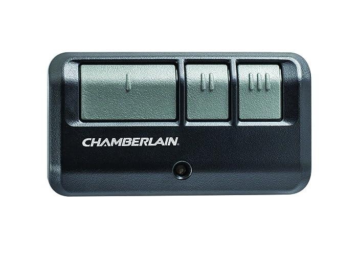 Chamberlain Group G953EV-P2 Chamberlain/LiftMaster/Craftsman 953EV-P2 3-Button, Security +2.0 Compatible, Includes Visor Clip Garage Door Opener Remote