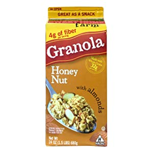 Sweet Home Granola Honey Nut, 24 oz