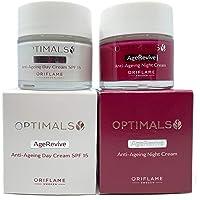 ORIFLAME Optimals Age Revive Crema de Día SPF15 + Crema de Noche Set !