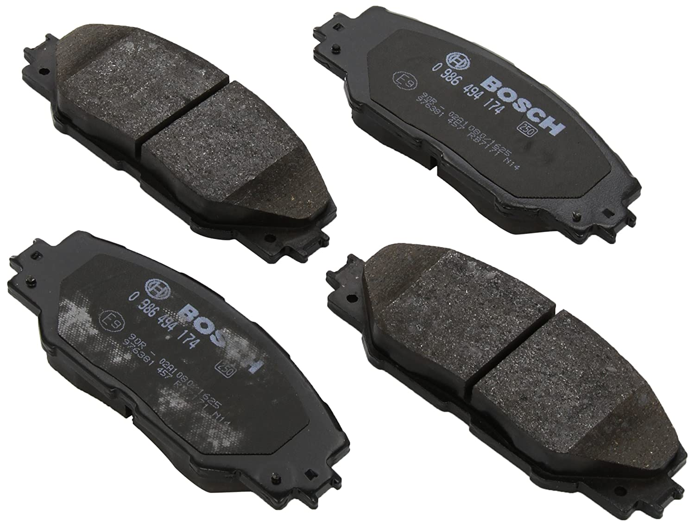 Bosch 0 986 494 174 Bremsbelagsatz Scheibenbremse 4-teilig