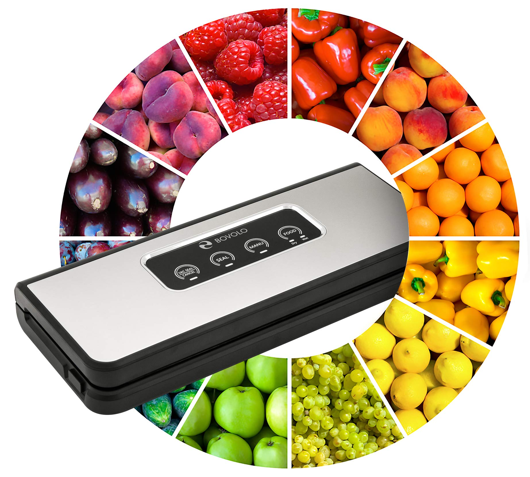 Vacuum Sealer Machine - Food Saver Vacuum Sealer Machine - Vaccume Sealer Machine - Food Sealer - Seal a Meal Vacume Machines - Food Sealers Vacuum Packing Machine - Sous Vide Vaccum Food Savers by Bovolo Techno Park