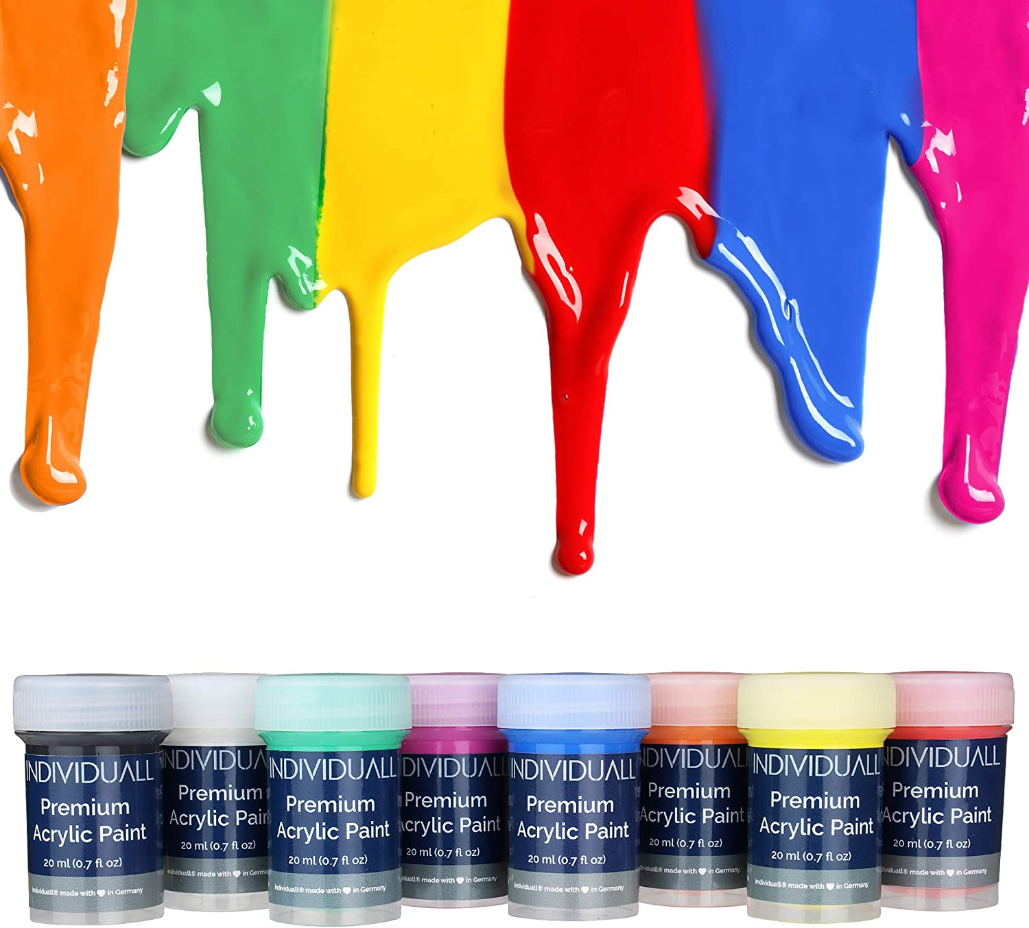 Individuall Premium Acrylic Paint Set