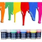 Premium Acrylic Paint Set by individuall – 8 Professional Grade Acrylic Paints – Art Supplies Made in Germany – Craft…