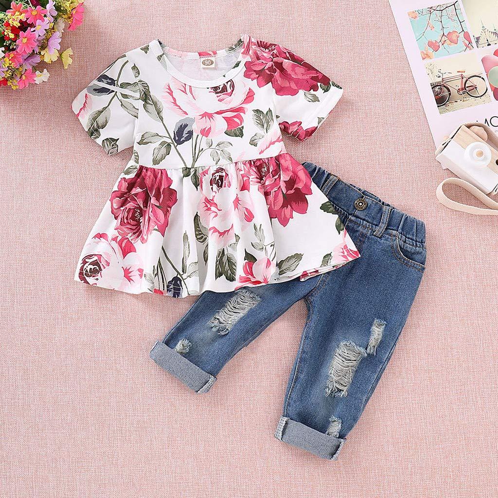 Counjunto de Ropa bebé niña Verano, Modaworld Camisas ...