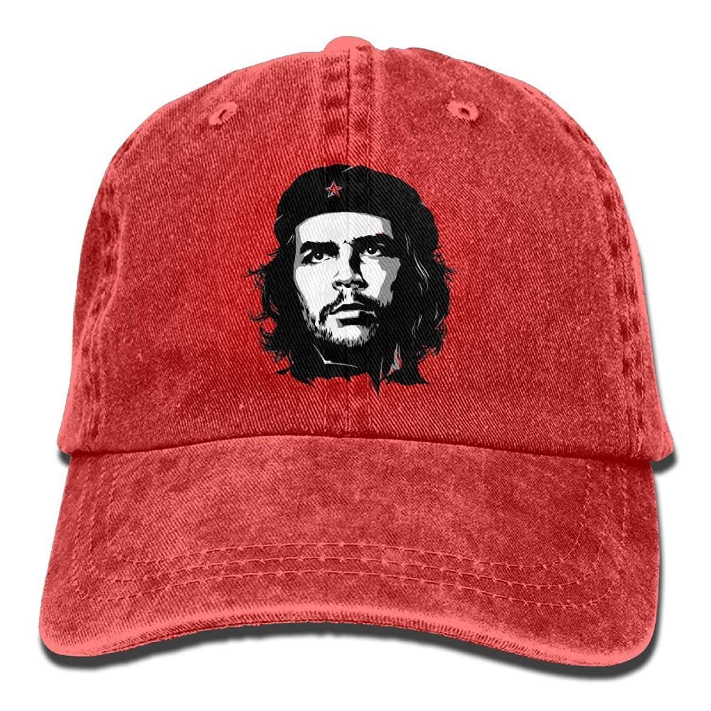 HENBEERS Cowboy Hat Cap for Men Women Communist Fighter Che ...