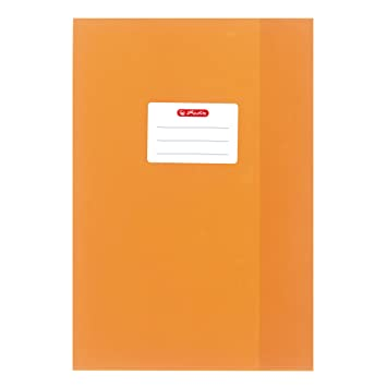 Herlitz 5204060 Protège-cahier Orange  Amazon.fr  Fournitures de bureau 50eff13b0f8