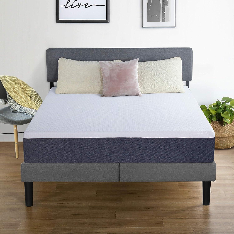 PrimaSleep Modern 10 Inch Air Flow Gel Memory Foam Comfort Bed Mattress Full