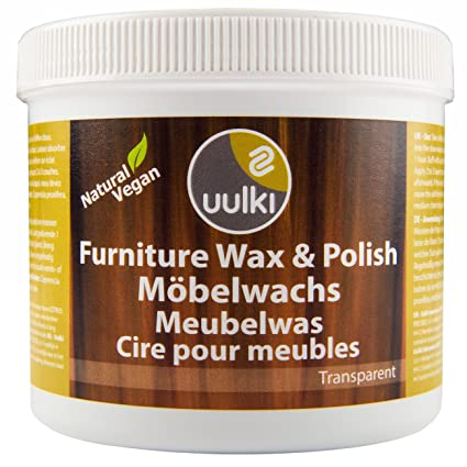 Uulki Natural Furniture Polish Eco Vegan Wood Finishing Wax 500