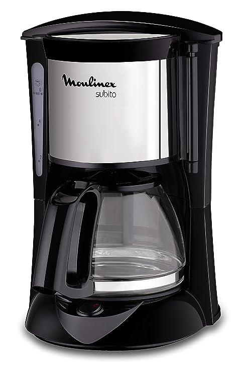 Moulinex FG150813 Cafetera de Filtro, 6 Tazas, función Auto-Off, 650 W, Inox y negro: Amazon.es: Hogar