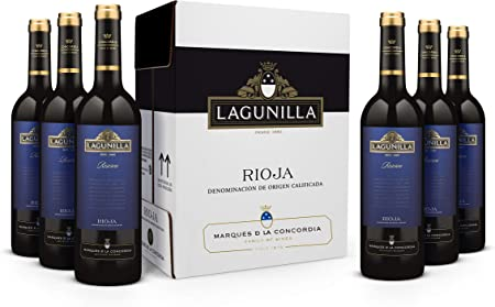 Lagunilla Reserva Rioja - Vino Tinto, 6 botellas x 750 ml