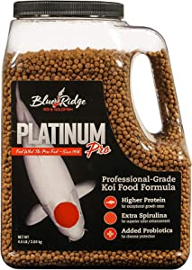 Blue Ridge Fish Food [4.5lb], Platinum Professional Formula 3/16