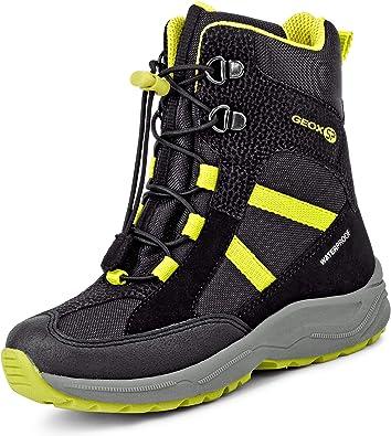 Geox garçon Boots New Alaska Boy WPF, Gamin Bottes de Neige