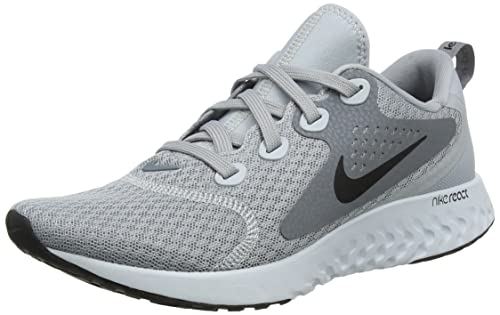 best service 0767d b1702 Nike Women s WMNS Legend React Competition Running Shoes, (Wolf Black-Cool  Grey-