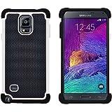 Coque Galaxy Note 4, G-Shield Étui Housse de Protection [Résistance Extrême] [Anti-Choc] Coque de Protection Hybride Pour Samsung Galaxy Note 4 - Blanc
