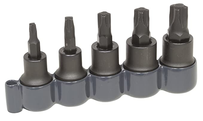 Lisle 82400 5 Piece Mortorq Bit Set