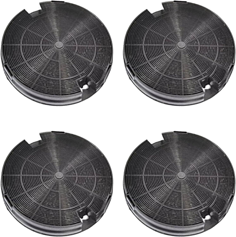 Spares2go Carbón Carbón Ventilación Filtro para IKEA Campana Extractora (Pack de 4): Amazon.es: Hogar