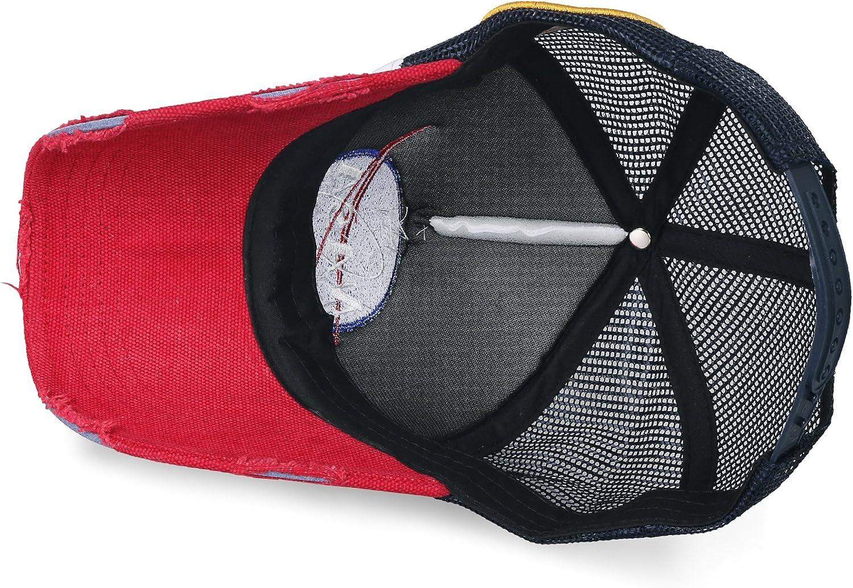 ililily NASA Meatball Logo Embroidery Baseball Cap Apollo 1 Patch Trucker Hat