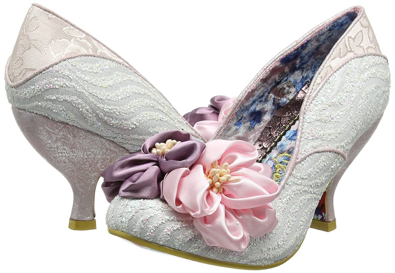 Irregular Choice Womens Little Peaches Closed-Toe Heels