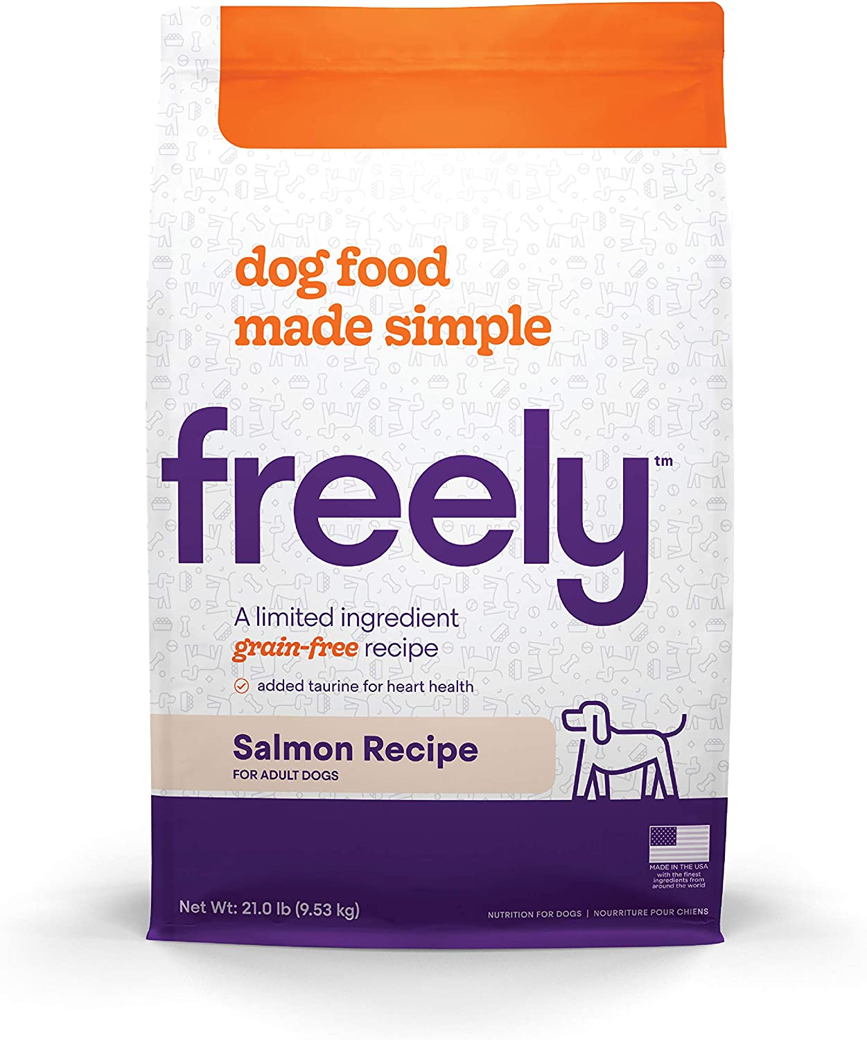 Freely Limited Ingredient Diet, Grain Free Dog Food, Natural Adult Dry Dog Food