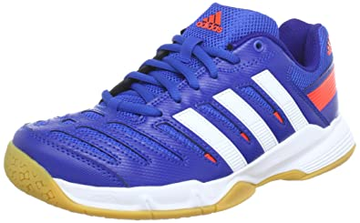 adidas Essence 10.1, Chaussures indoor homme Bleu (BLUE BEAUTY F10 RUNNING WHITE