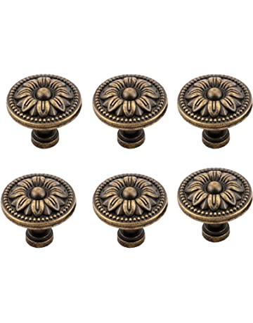 Police Firefighter EMS American Flag Pack of 4 Kitchen Cabinet Knobs Knobs for Dresser Drawers for Cupboard,Wardrobe,Bathroom or Office