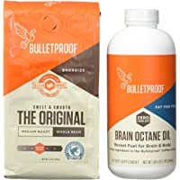Bulletproof Upgraded Coffee Starter Kit- Brain Octane Edition, 2 Count (Pack of 1)