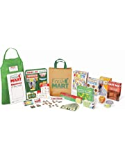 Melissa & Doug Fresh Mart Grocery Store Companion Collection, Play Sets & Kitchens, Multiple Role Play Items, Helps Develop Social Skills, 25.4 cm H x 8.89 cm W x 34.925 cm L