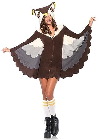 Leg Avenue 85500 - traje Búho acogedor, de tamaño mediano (38 ...