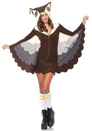 dc0beb782c Amazon.com: Leg Avenue Women's Cozy Owl Costume: Clothing