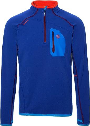 Ternua ® Kratu 1/2 Zip M - Camiseta Hombre: Amazon.es: Ropa y accesorios