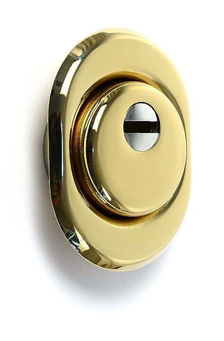 Vi.Tel. E0439 42 Protector Ajustable para Cilindros, Dorado