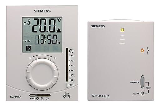 SIEMENS RDJ10RF - Habitación Termostato Digital: Siemens: Amazon.es: Bricolaje y herramientas