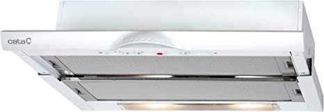 CATA Campana convencional Telescópica 02034500 TF5260WH: Amazon.es: Grandes electrodomésticos