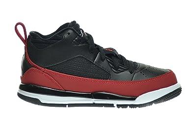 release date 20b12 5c1f3 Jordan Flight 9.5 BP Little Kids Shoes Black Gym Red-White 654976-002