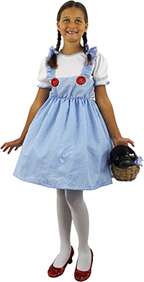 DOROTHY COUNTRY GIRL FANCY DRESS COSTUME CHILDS AGE 3-6 (disfraz ...