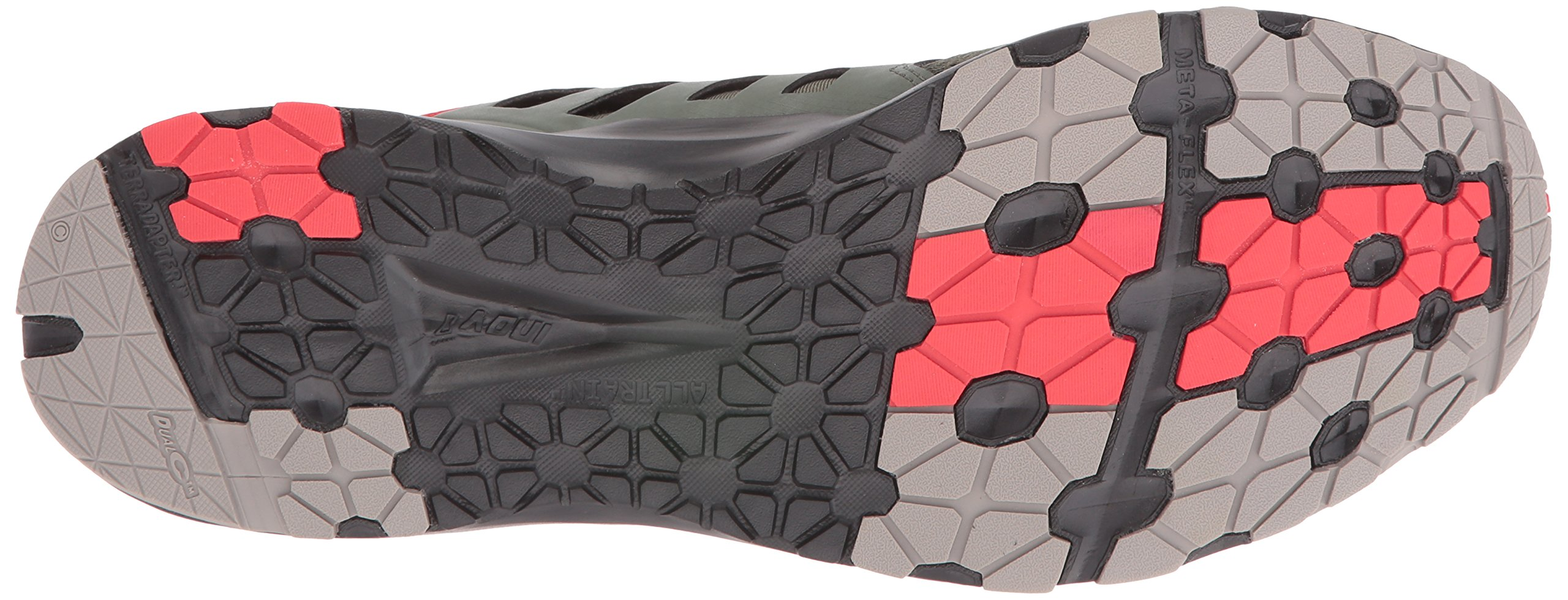 Inov-8 Men's All Train 215 Cross-Trainer Shoe, Dark Green/Red/Black, 12 D US by Inov-8 (Image #3)