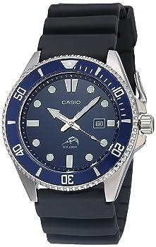 Casio Diver Inspired Stainless Steel Quartz Watch