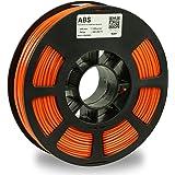 KODAK ABS Filament 2.85mm for 3D Printer, Orange, Dimensional Accuracy +/- 0.03mm, 750g Spool (1.7lbs), ABS Filament 2…
