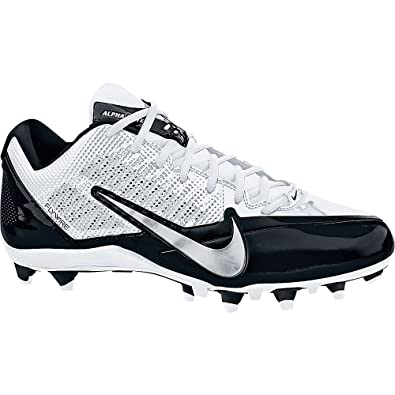 NIKE Mens Alpha Pro TD Football Cleats (16 D(M) US White And Black)