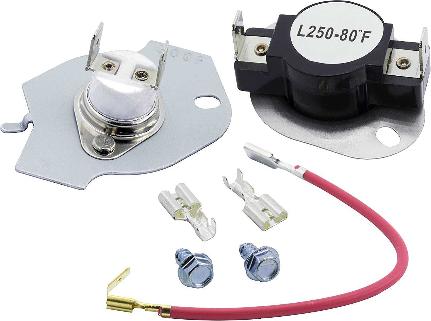 SEARS 279973 MAYTAG DRYER THERMAL CUT OFF KIT FOR WHIRLPOOL 2PK KENMORE