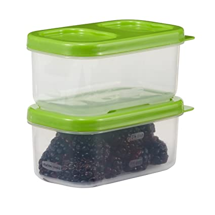 Amazoncom Rubbermaid LunchBlox Side Container Green Pack of 2