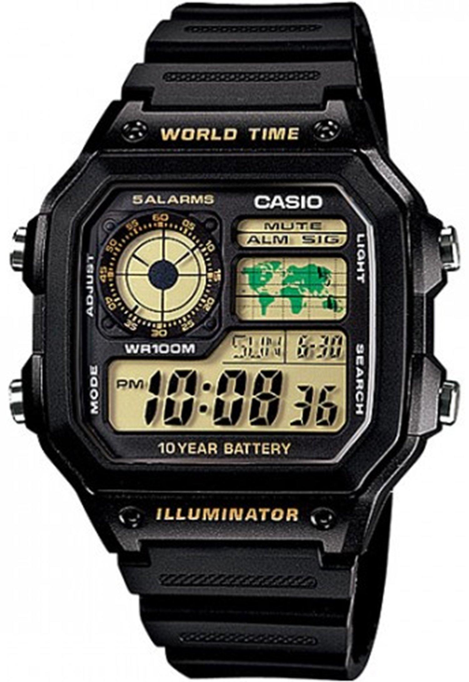 Casio Classic Black Watch AE1200WH-1B by Casio