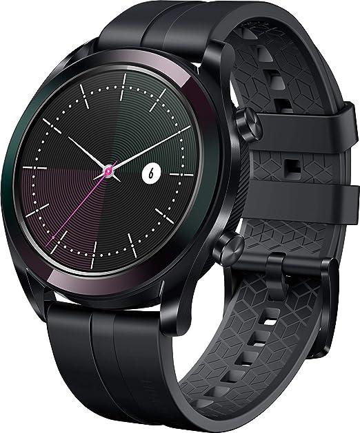 Huawei Watch Gt Elegant Smartwatch 42 Mm Amoled Touchscreen Gps Fitness Tracker Herzfrequenzmessung 5 Atm Wasserdicht Schwarz Uhren